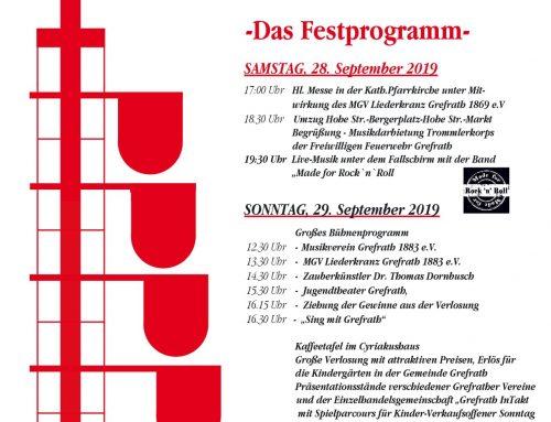 22. Grefrather Herbstfest